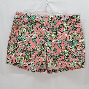Crown & Ivy Pink/Green/White Shorts Size 12